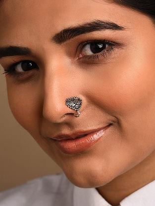 Silver Tone Tribal Nose Clip