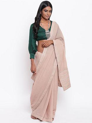 Green Cotton Silk Blouse