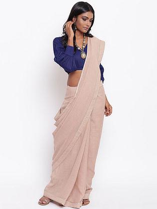Blue Cotton Silk Blouse