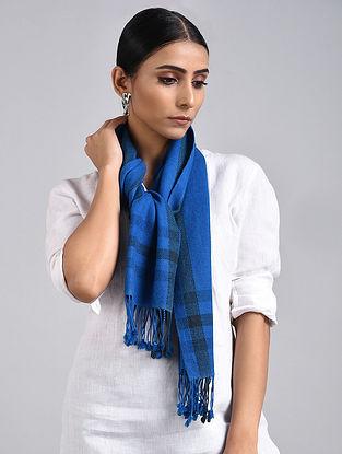 Blue Handwoven Pashmina Muffler