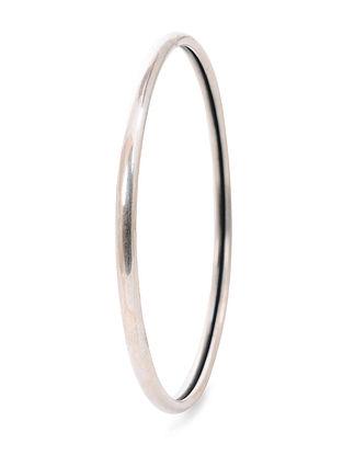 Tribal Silver Bangle (Bangle Size -2/8)