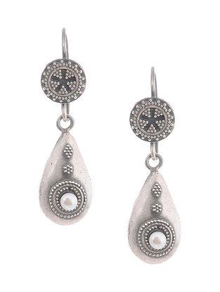 Pearl Silver Earrings