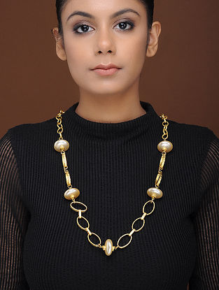 Classic Gold-Plated Brass Necklace