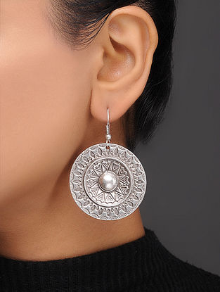 Classic Silver-Plated Earrings