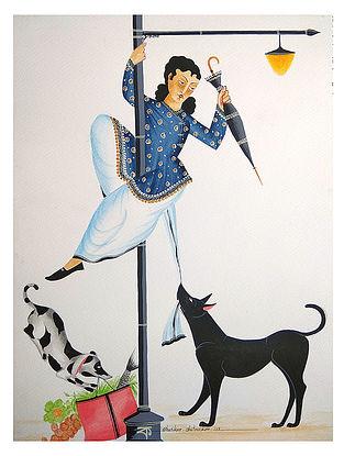 Limited Edition Kalighat Pattachitra Babu