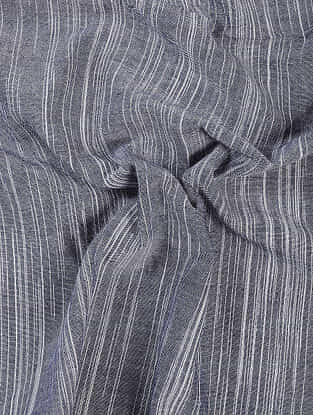 Grey Handloom Cotton Fabric