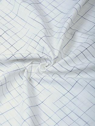 Ivory Handloom Cotton Fabric