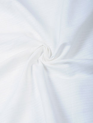 White Handloom Cotton Fabric