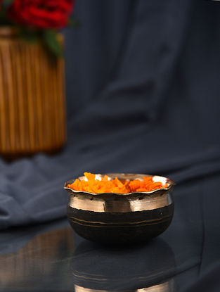 Handmade Kansa Nut Bowl (Dia- 4in)