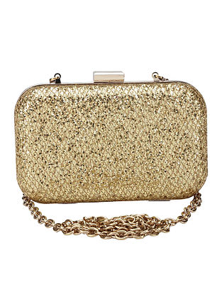 Gold Handcrafted Clutch