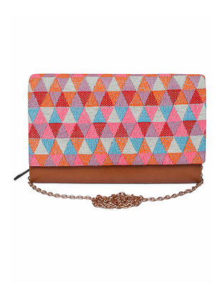 Multicolored Handcrafted Jacquard Wallet