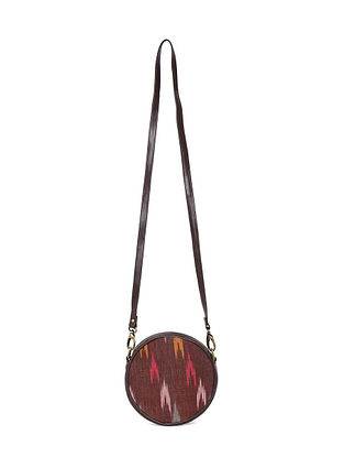 Multicolored Handcrafted Ikat Sling Bag