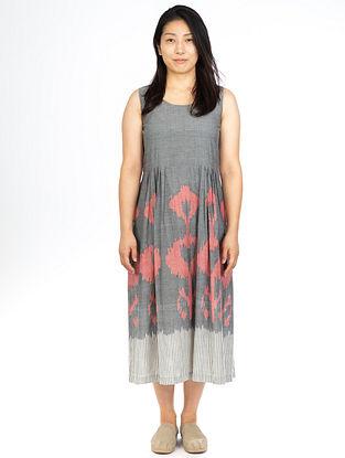 Grey Dhalia Sleeveless Maxi Dress
