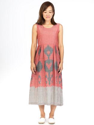 Red Dhalia Sleeveless Maxi Dress