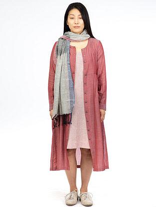Red Chambray Maxi Dress
