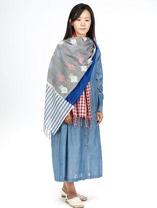 Blue Chambray Maxi Dress