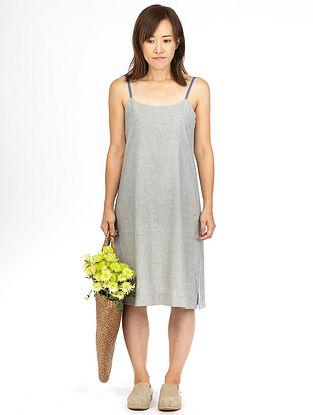 Grey Fil-A-Fil Strap Dress