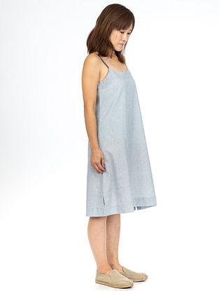 Blue Fil-A-Fil Strap Dress