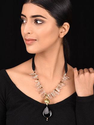 Black Gold Tone Necklace