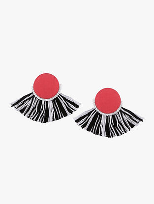Multicolored Earrings with Tassels