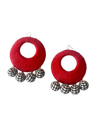 Multicolored Thread Earrings