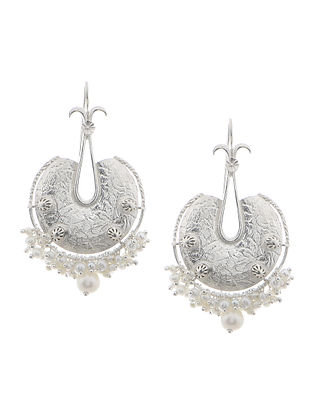 Fresh Water Pearls Silver Earrings
