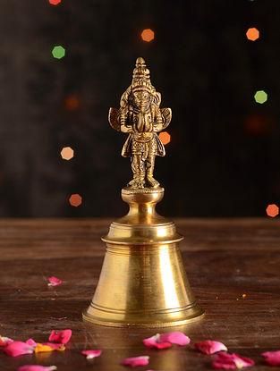 Brass Garud Bell (Dia- 3in, H- 6.5in)