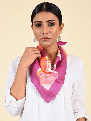 Pink-Orange Modal Silk Stole