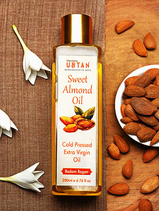 Cold Pressed Sweet Almond Oil -200ML