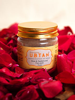 Rose and Sandalwood Face Pack - 50 gms