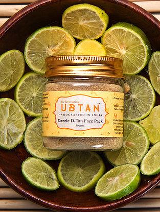 Dazzle D Tan Face Pack - 50 gms