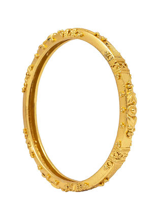 Gold Plated Bangle (Bangle Size: 2/4)