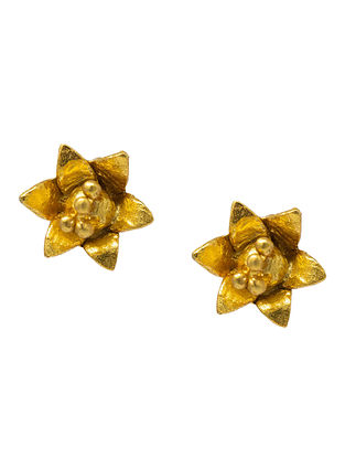 Gold Plated Handcrafted Silver Earrings