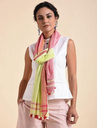 Pink Organic Cotton Scarf