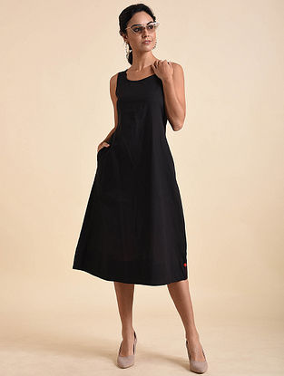Black Organic Cotton Dress