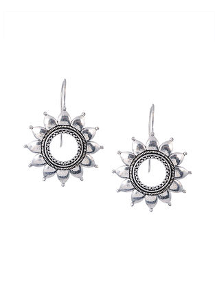Silver Tone Handcrafted Earrings
