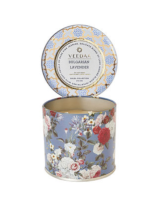 Bulgarian Lavender Mason Tin Scented Candle (Burns 25+ Hours)