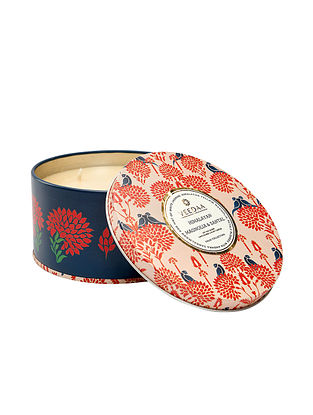 Himalayan Magnolia and Santal 3 Wick Tin Scented Candle (Burns 40+ Hours)