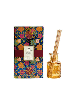 Bulgarian Lavender Champagne Glass Fragrance Reed Diffuser (Lasts 3+ Months)