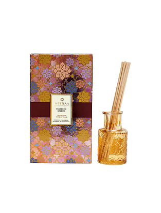 Prosecco Berries Champagne Glass Fragrance Reed Diffuser (Lasts 3+ Months)