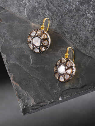 Polki Gold Earrings