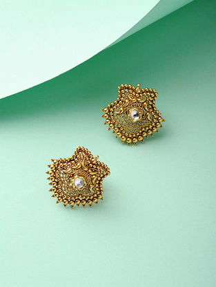 Kundan Gold Earrings