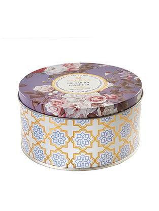 Bulgarian Lavender 3 Wick Tin Scented Candle (Dia: 4.5in, H:2.3)