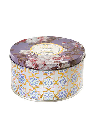 Midnight Jasmine 3 Wick Tin Scented Candle (Dia: 4.5in, H:2.3)