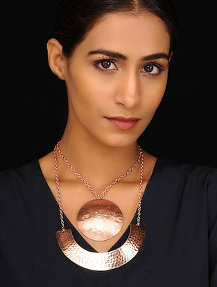 Copper Tone Tribal Necklace
