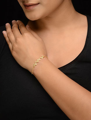 Classic Gold-plated Silver Bracelet