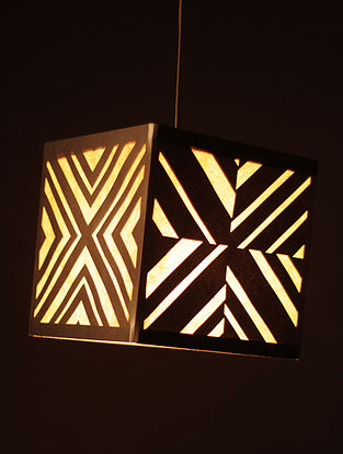 Diamond Cube Shaped Hanging Lamp (Collapsible)