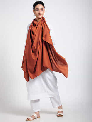 Red Pashmina/Cashmere Shawl