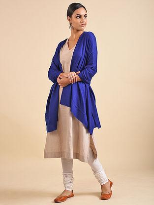Blue Hand Dyed Pashmina Shawl