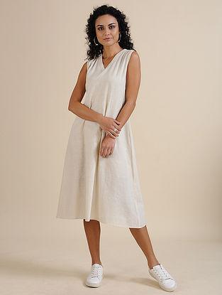 Ivory Khadi Dress